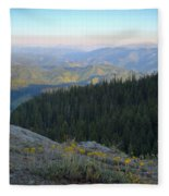 Wilderness View Fleece Blanket