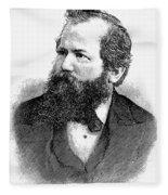 Wilhelm Steinitz (1836-1900) Fleece Blanket