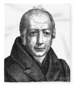 Wilhelm Von Humboldt Fleece Blanket