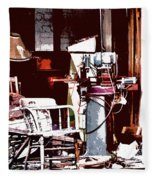 Willburn Furniture And Restoration Needs Restoring Fleece Blanket
