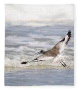 Willet Flying Fleece Blanket