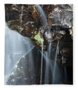 Willey Brook - White Mountains New Hampshire  Fleece Blanket