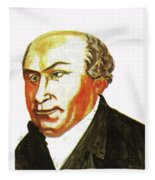 William Carey Fleece Blanket