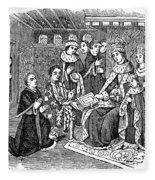 William Caxton (c1421-1491) Fleece Blanket
