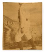 William Ellsworth Hoy Fleece Blanket