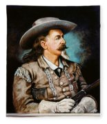 William F. Cody Fleece Blanket