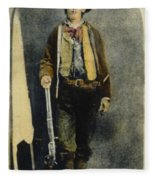 William H. Bonney Fleece Blanket