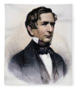 William Henry Seward Fleece Blanket