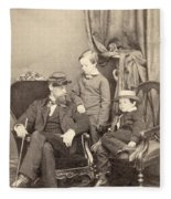 Willie & Tad Lincoln, 1862 Fleece Blanket