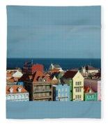 Williemstad Curacoa Fleece Blanket