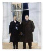Wilson & Taft: White House Fleece Blanket