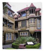 Winchester House - Door To Nowhere Fleece Blanket