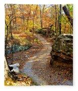 Winding Trail Fleece Blanket