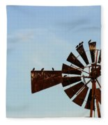 Windmill-3772 Fleece Blanket