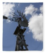 Windmill 4 Fleece Blanket