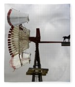 Windmill 9 Fleece Blanket