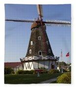 Windmill Danish Style 1 A Fleece Blanket