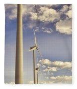 Windmill Ridge Fleece Blanket