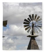 Windmills 5 Fleece Blanket