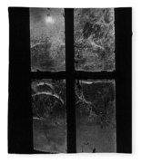 Window At Castle Frankenstein Fleece Blanket