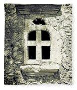 Window Of Stone Fleece Blanket