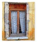 Window Provence France Fleece Blanket