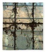 Window Vines Fleece Blanket