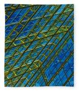 Windows And Reflections No.1058 Fleece Blanket
