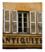 Windows Of Antiquites Fleece Blanket