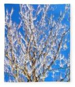 Winds Upon The Branchs II Fleece Blanket