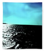 Windsurfing Greece Fleece Blanket
