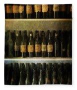 Wine Collection Fleece Blanket