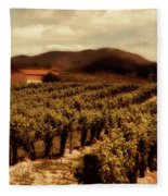 Wine Country Fleece Blanket