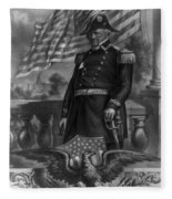 Winfield Scott, American Army General Fleece Blanket