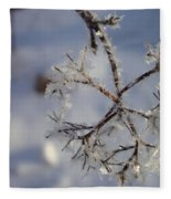 Winter Crystals Fleece Blanket