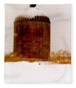 Winter Rust Fleece Blanket