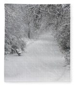 Winter's Trail Fleece Blanket