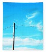 Wire Wrangler Fleece Blanket