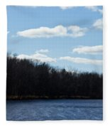Wisconsin's Peshtigo River Fleece Blanket
