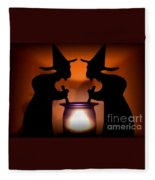 Witches Brew Fleece Blanket