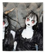 Witches Of Hallow's Eve Fleece Blanket