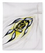 With A Pure Heart Fleece Blanket