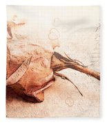 Withered Dreams Fleece Blanket