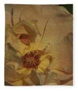 Withering Rose Fleece Blanket