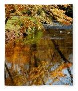 Wolcott River Reflections Fleece Blanket
