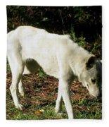 Wolf 2 Fleece Blanket