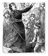 Woman Preaching, 1888 Fleece Blanket