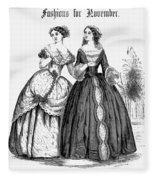 Womens Fashion, 1851 Fleece Blanket