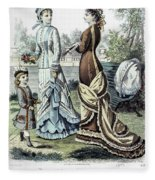 Womens Fashion, 1877 Fleece Blanket