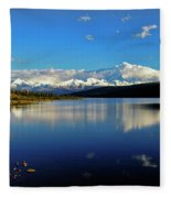 Wonder Lake II Fleece Blanket